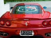 Hello Kitty conquista Ferrari