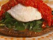 Dimagrire gusto: Funghi arrosto salsa peperone uovo camicia