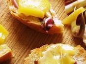 Idea veloce: crostini latteria Sauris Radicchio