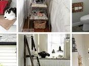 Idee riciclare vecchie scale legno