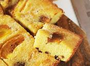 Torta morbida panna acida, gocce cioccolato cachi