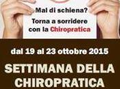 Settimana Della Chiropratica!