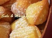 MADELEINE (Ricetta Montersino)