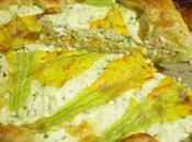 Torta salata zucchine fiori zucca