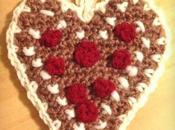 Ciondolo natalizio: Cuore Gingerbread