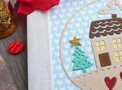 #CreativeRox Cornice Natale cartone