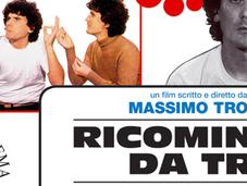 Ricomincio Troisi torna cinema Novembre