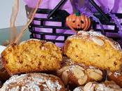 Muffin dolci alla zucca mandorle halloween