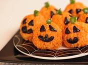 Piccole zucche riso Halloween