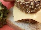 Cheese Vegburger lenticchie avena purè patate pesto cavolo nero