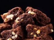 Brownies farina castagne cioccolato pinoli (gluten free)