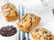 Plumcakes integrali gocce cioccolato
