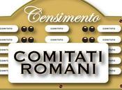 censimento comitati romani