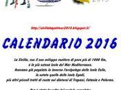 2016 calendar Sicily kayak tour