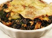 Sformatini Spinaci, Salmone Patate