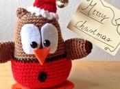 Gufetto natalizio: un'originale regalo natalizio.