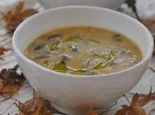 Zuppa funghi scaldarmi