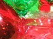 Addobbi plastica riciclata,semplici semplici-ALBERELLI.STELLE NATALE