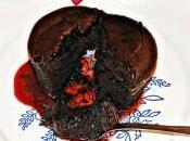 L'amore sbocciato soffiato cioccolato