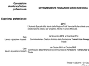 Claudio Orazi curriculum