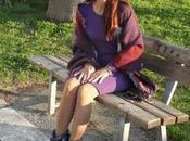 Come abbinare vestito viola