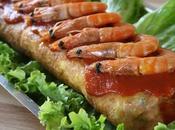 TAVOLA NATALE BRASILIANA Rocambole camarão (rotolo gamberetti)