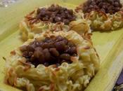Cestini patate lenticchie