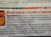 Cookie piccanti all'arancia gocce cioccolata