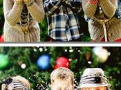 Idee fotografare bambini Natale