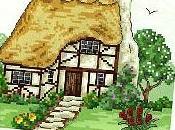Schemi punto croce quadretti case- gratis scaricare