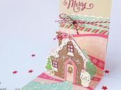Biglietto Pop-up Casa Pandizenzero Gingerbread House Pup-up Card