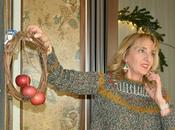 Gnomi segnaposto mise place Natale verde