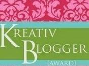 Kreativ Blogger Award!