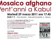 """Presentazione libro """"Mosaico afghano"""""""