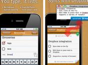 Droplist applicazione capace creare liste condividerle Dropbox