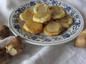 Salatini sfoglia vegani topinambour caramellati