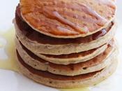 Pancakes alle castagne miele fiori d'arancio
