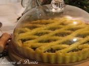Crostata polenta broccoletti salsiccia
