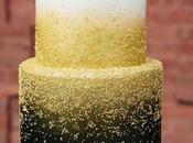 Black&gold wedding cake fine anno