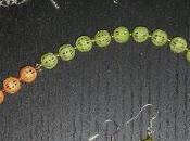 Dopo legno, smaltiamo metallo: collana orecchini. Tutorial Sautoir perles métal peintes vernis ongle.