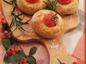 Focaccine pomodorini all'olio piccante