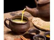 Golden milk latte d'oro