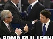 conflitto Renzi-Juncker? Solo propaganda elettorale.