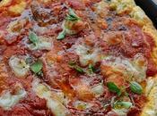Pizza allo Yogurt Senza Lievitazione Classica alle Pere Gongorzola
