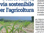 Primi cenni AGRICOLTURA CONSERVATIVA