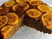 Torta rovesciata alle arance caramellate vaniglia