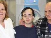 Luino: Alberto, ragazzo sindrome down, lavora nella lavanderia casa riposo