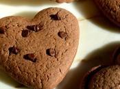 Cuori gocce cioccolato