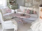 Stile romantic shabby casa Mariann