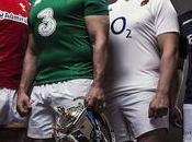 Nazioni 2016, maglie delle nazionali rugby
